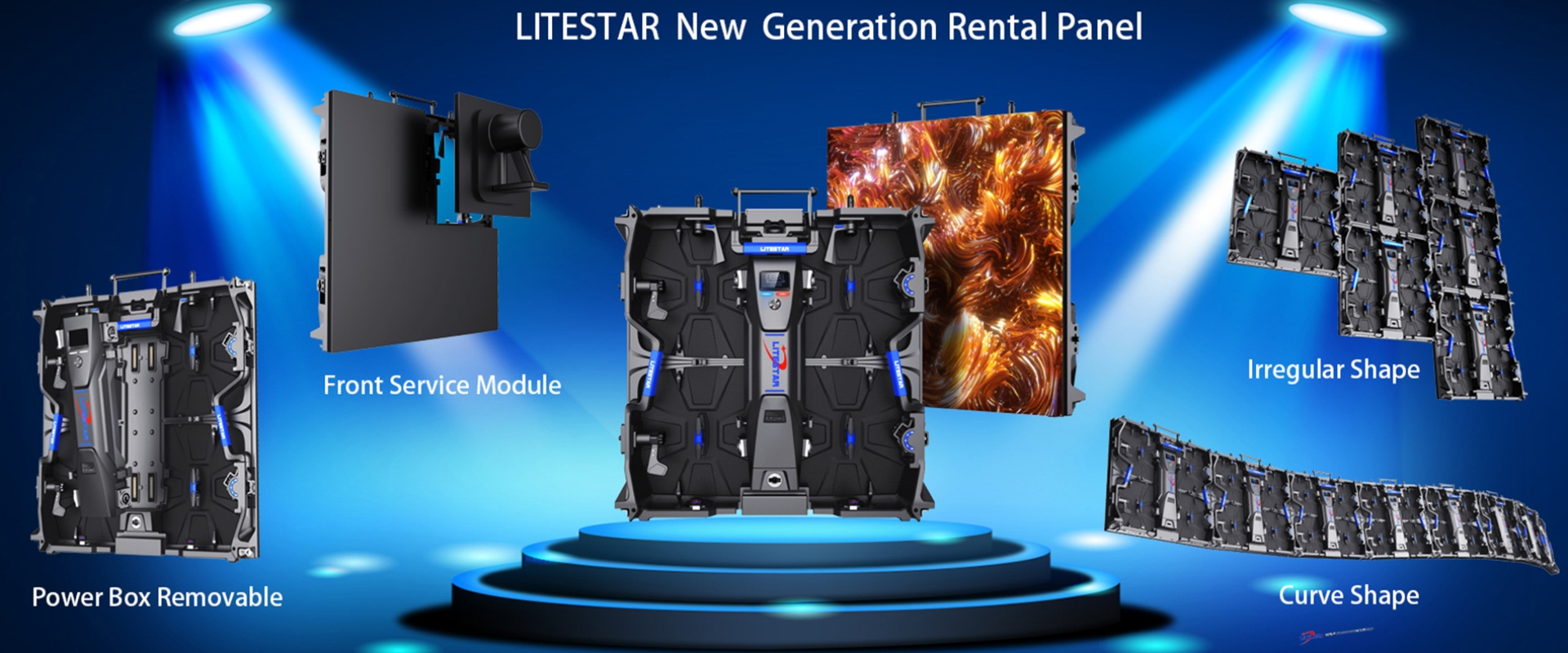 LSR Series Innovative Indoor Rental LED Panel